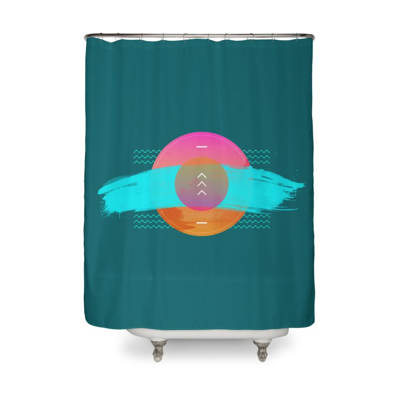 Summer 1979 Home Shower Curtain by nvil's Artist Shop