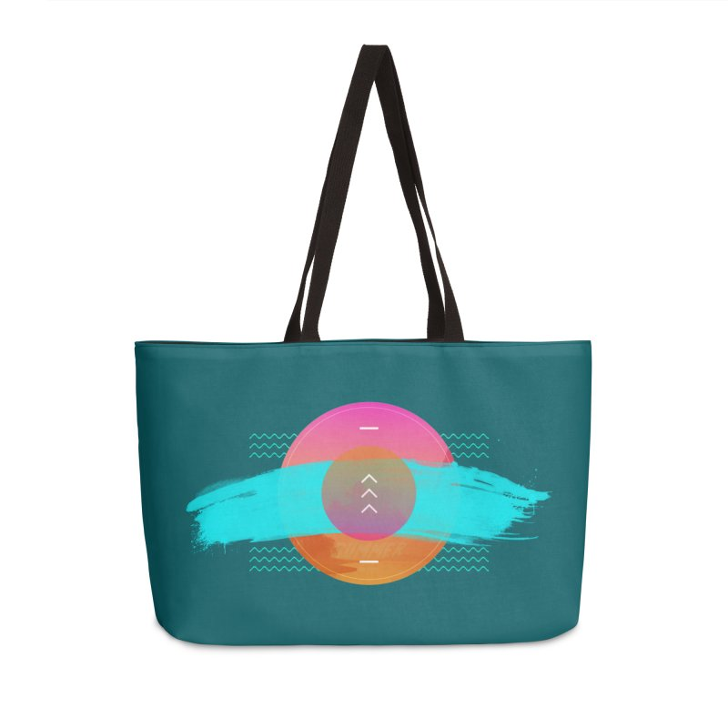 Summer 1979 Accessories Weekender Bag Bag by nvil's Artist Shop