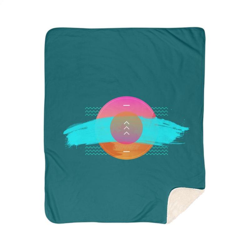 Summer 1979 Home Sherpa Blanket Blanket by nvil's Artist Shop