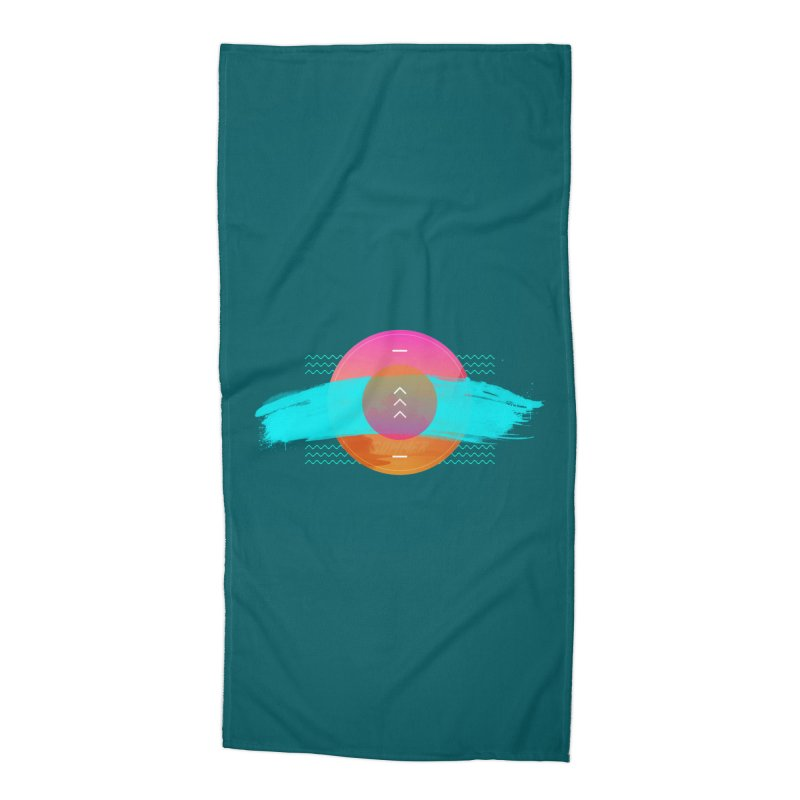 Summer 1979 Accessories Beach Towel by nvil's Artist Shop