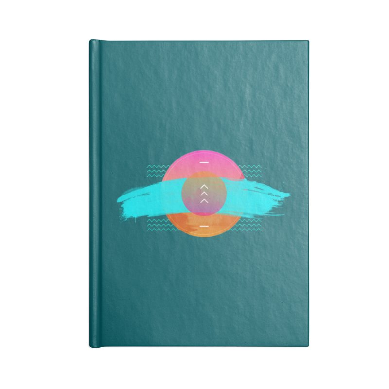 Summer 1979 Accessories Lined Journal Notebook by nvil's Artist Shop