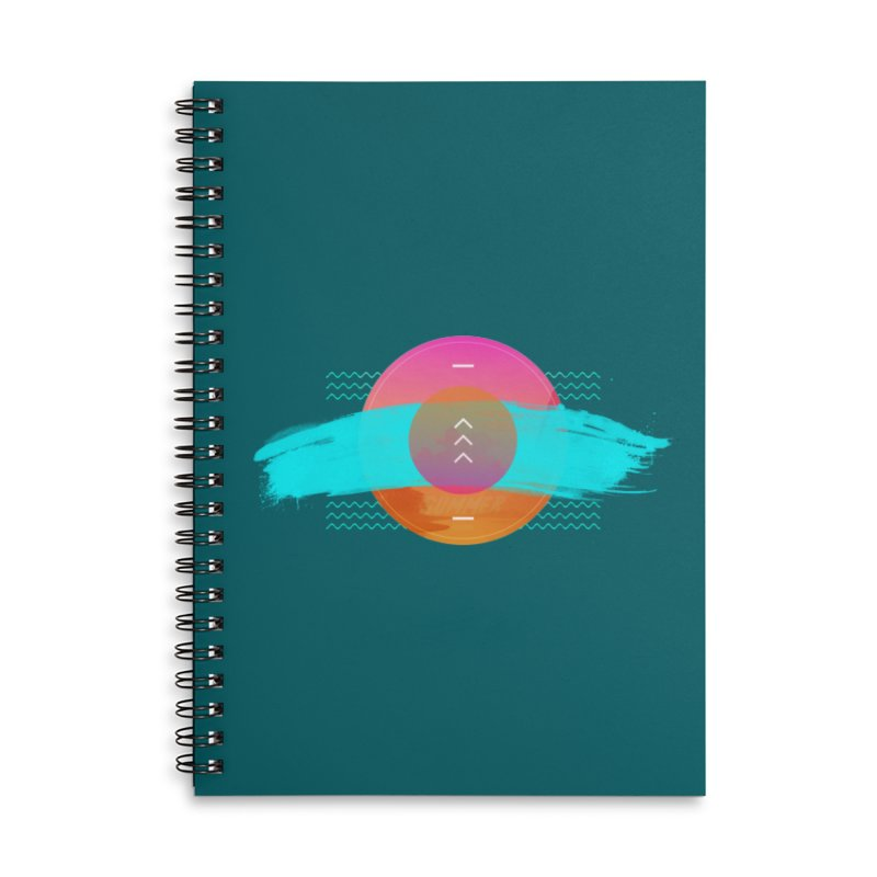 Summer 1979 Accessories Lined Spiral Notebook by nvil's Artist Shop
