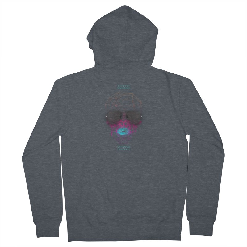 KISS Men's French Terry Zip-Up Hoody by nvil's Artist Shop