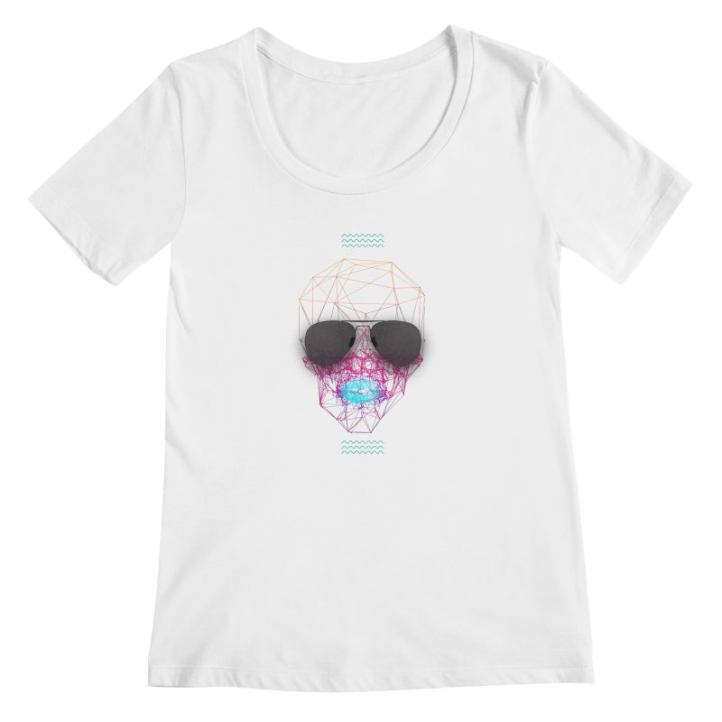 KISS Women's Regular Scoop Neck by nvil's Artist Shop