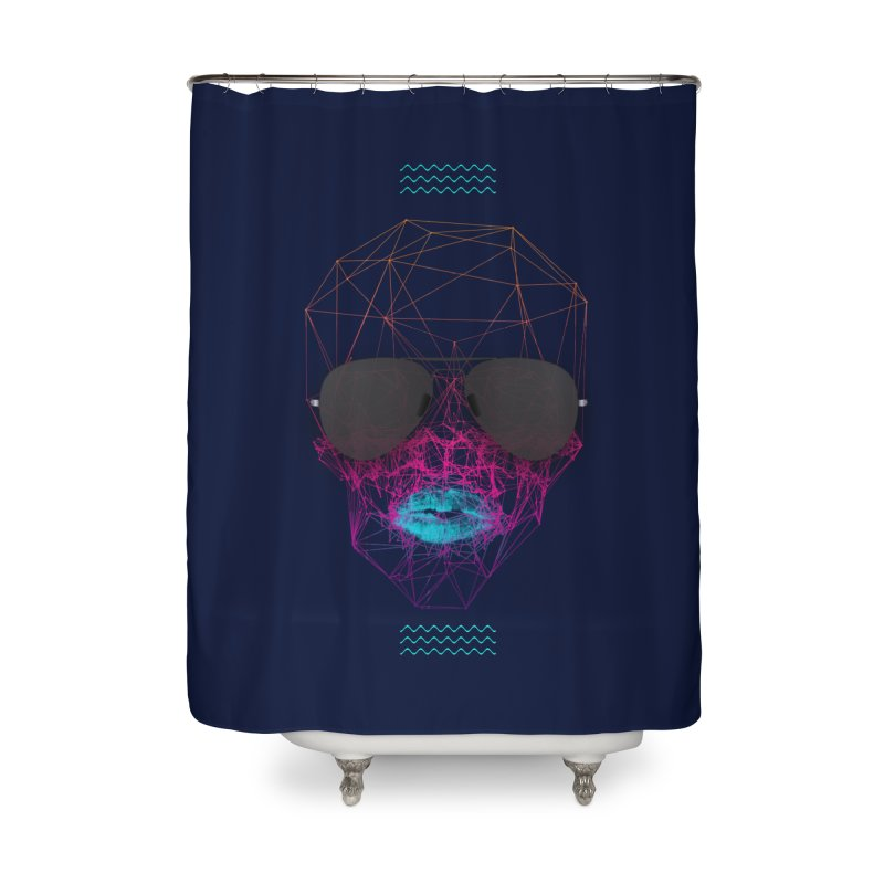 KISS Home Shower Curtain by nvil's Artist Shop