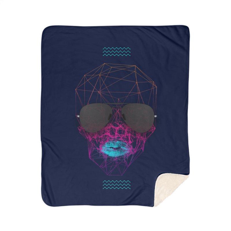 KISS Home Sherpa Blanket Blanket by nvil's Artist Shop