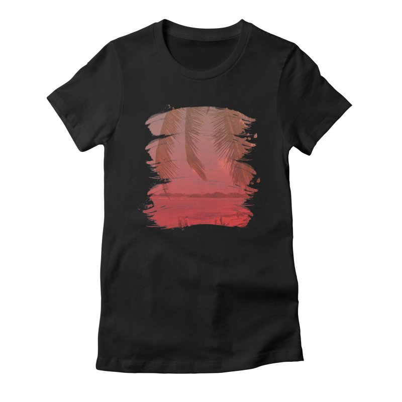 Summer is Coming Women's Fitted T-Shirt by nvil's Artist Shop