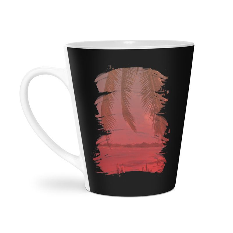 Summer is Coming Accessories Latte Mug by nvil's Artist Shop