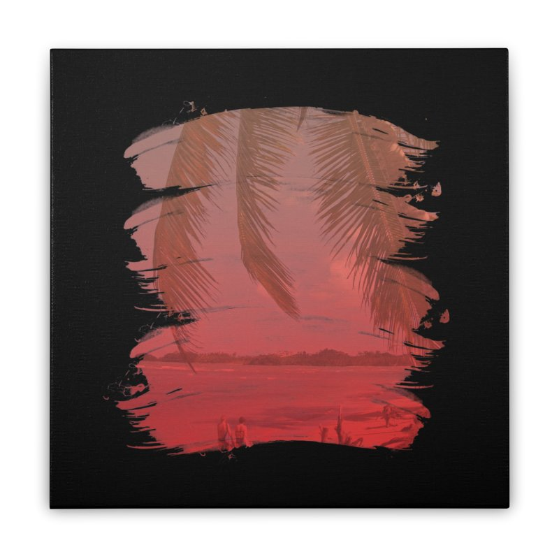 Summer is Coming Home Stretched Canvas by nvil's Artist Shop