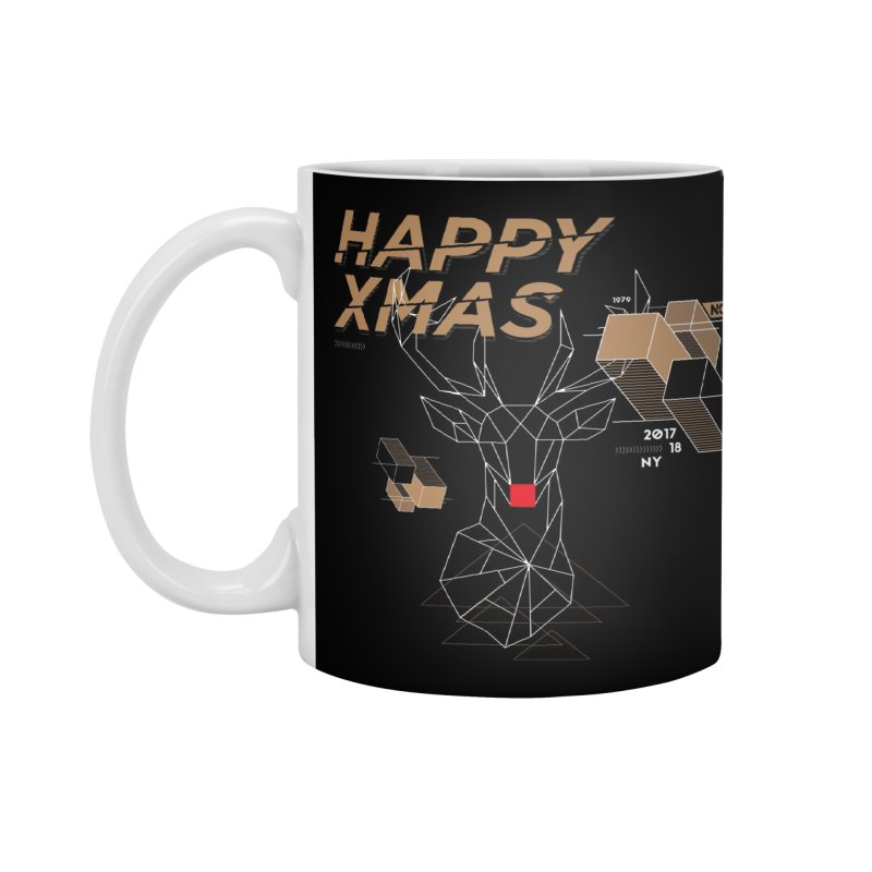 Xmas T-shirt Accessories Mug by nvil's Artist Shop