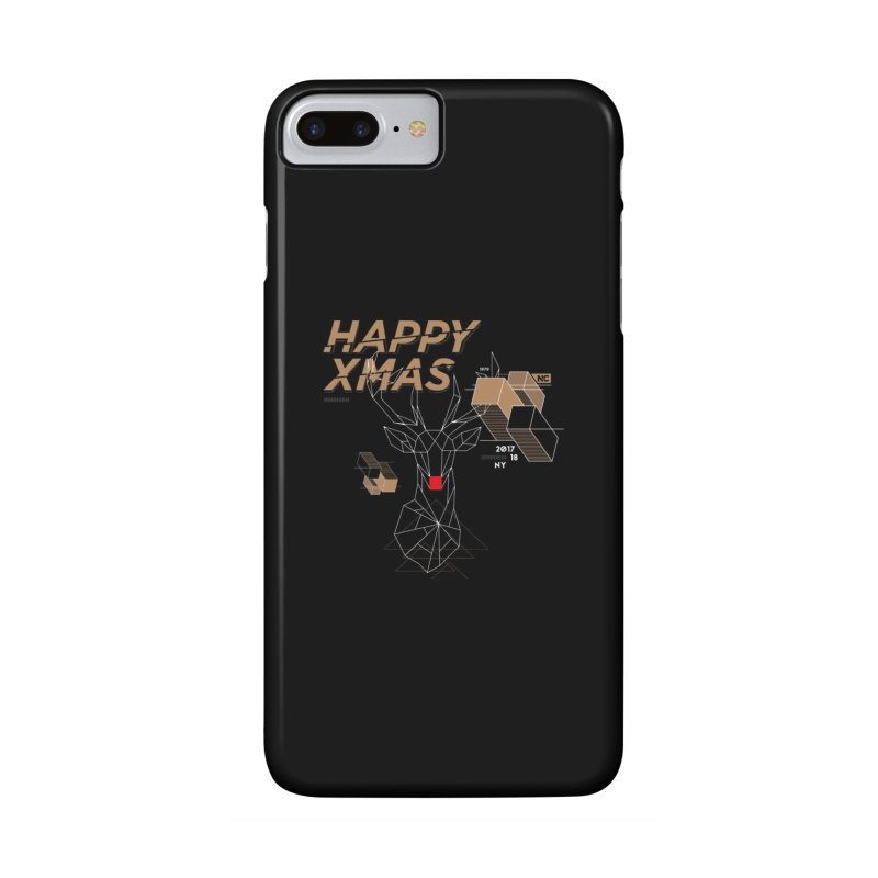 Xmas T-shirt Accessories Phone Case by nvil's Artist Shop