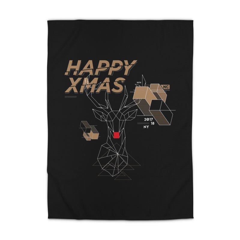 Xmas T-shirt Home Rug by nvil's Artist Shop