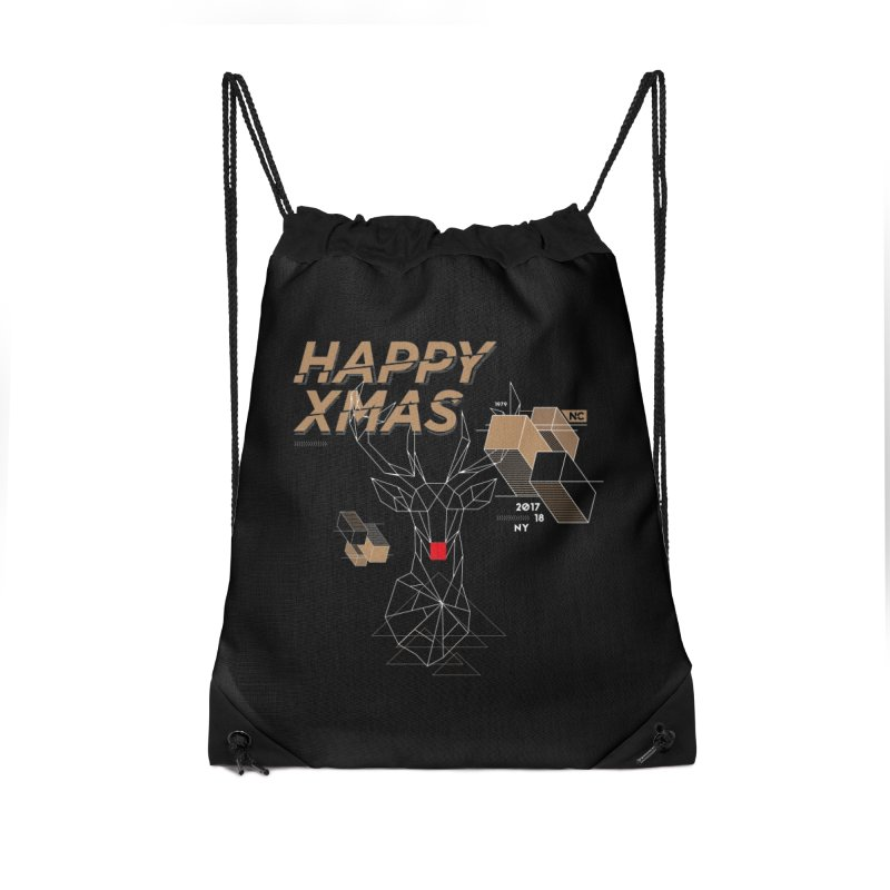 Xmas T-shirt Accessories Bag by nvil's Artist Shop