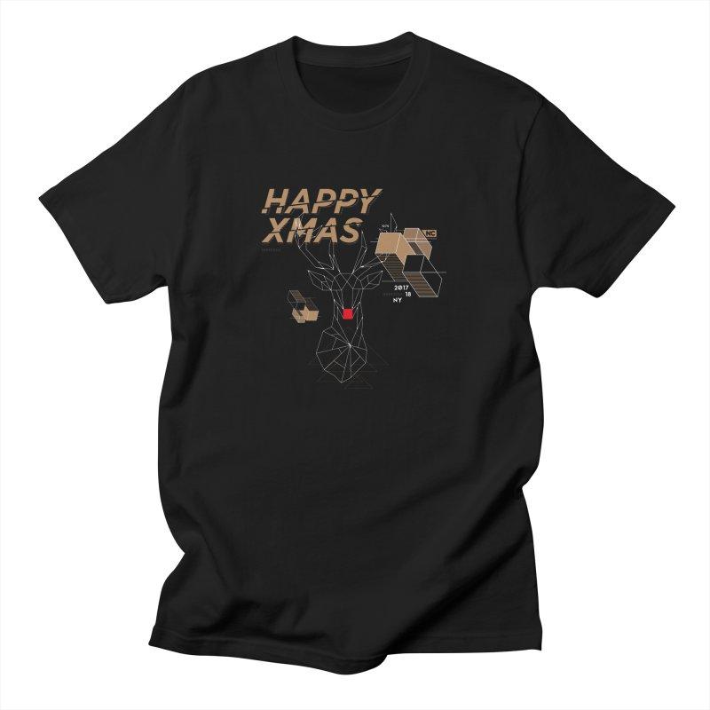 Xmas T-shirt Men's T-Shirt by nvil's Artist Shop