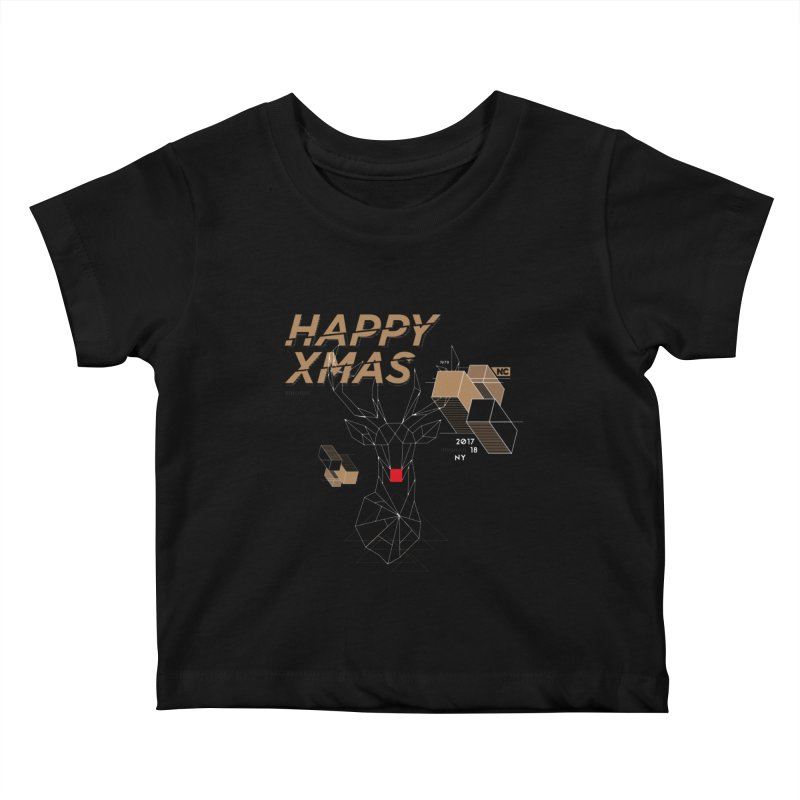 Xmas T-shirt Kids Baby T-Shirt by nvil's Artist Shop