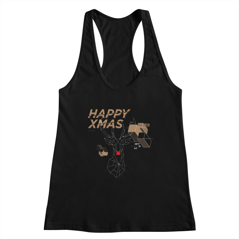 Xmas T-shirt Women's Tank by nvil's Artist Shop