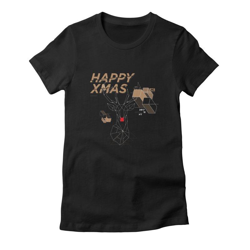 Xmas T-shirt Women's T-Shirt by nvil's Artist Shop