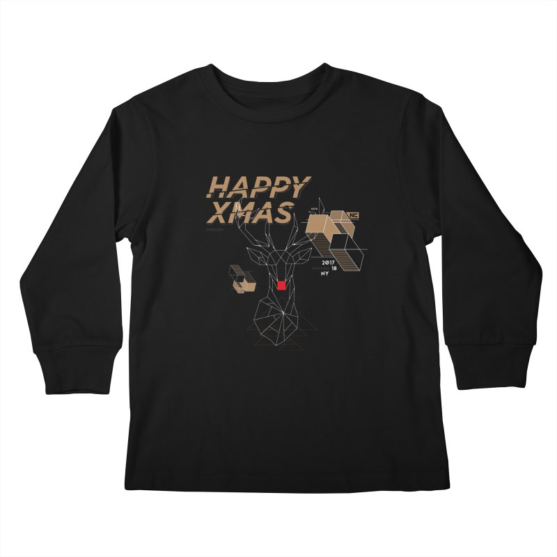Xmas T-shirt Kids Longsleeve T-Shirt by nvil's Artist Shop