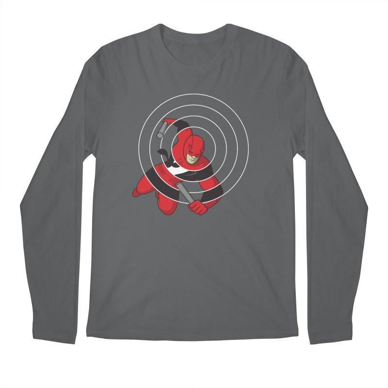 Guardian Devil Men's Longsleeve T-Shirt by grundy's Artist Shop