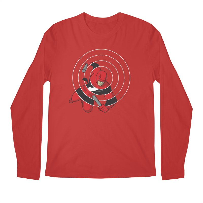 Guardian Devil Men's Regular Longsleeve T-Shirt by grundy's Artist Shop