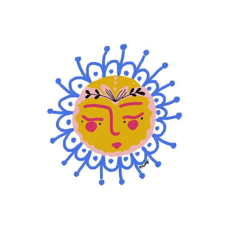 Little Sun Face Accessories Bag by Floresta moon