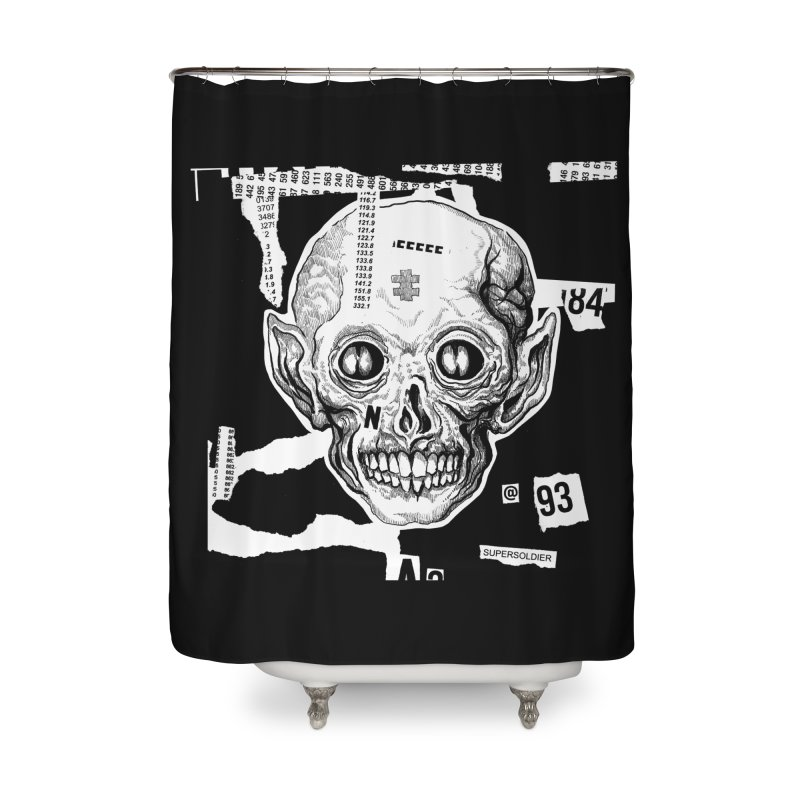 The Blood Collector Home Shower Curtain by N X O E E D