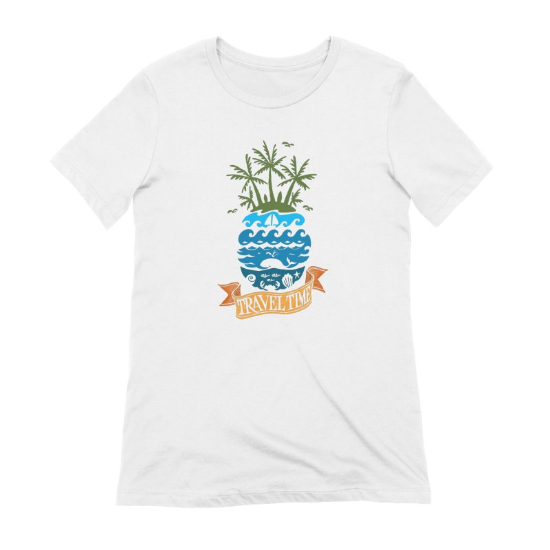 Travel time Women's T-Shirt by NXTTEE