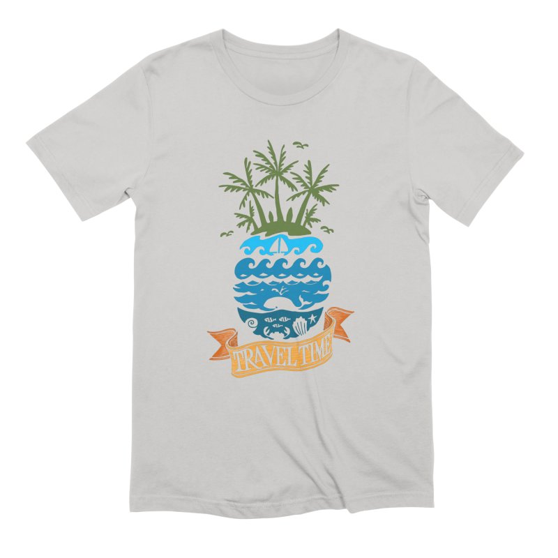 Travel time Men's T-Shirt by NXTTEE
