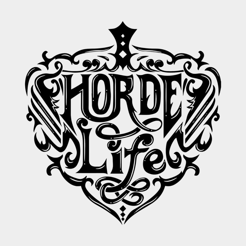 Horde Life Bright Men's T-Shirt by NXTTEE