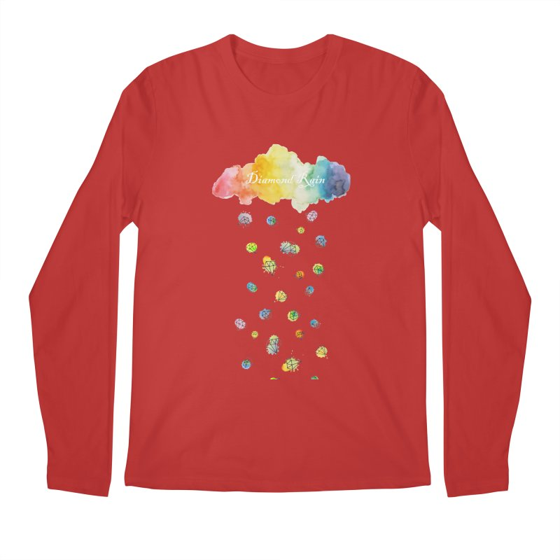 diamond rain Men's Longsleeve T-Shirt by nyc917's Artist Shop
