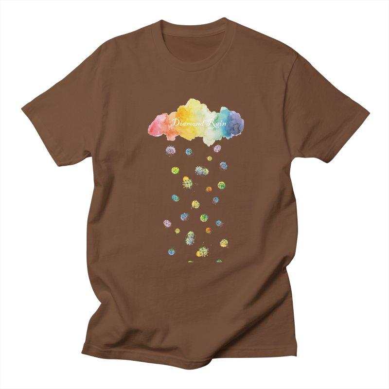 diamond rain Men's T-Shirt by nyc917's Artist Shop