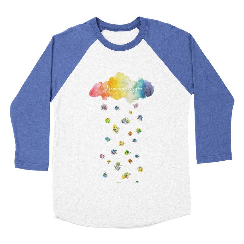 diamond rain Women's Baseball Triblend T-Shirt by nyc917's Artist Shop