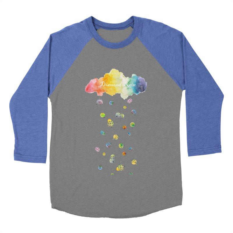diamond rain Men's Baseball Triblend T-Shirt by nyc917's Artist Shop