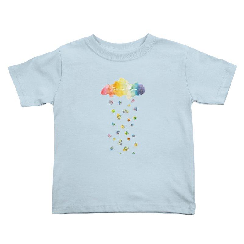 diamond rain Kids Toddler T-Shirt by nyc917's Artist Shop
