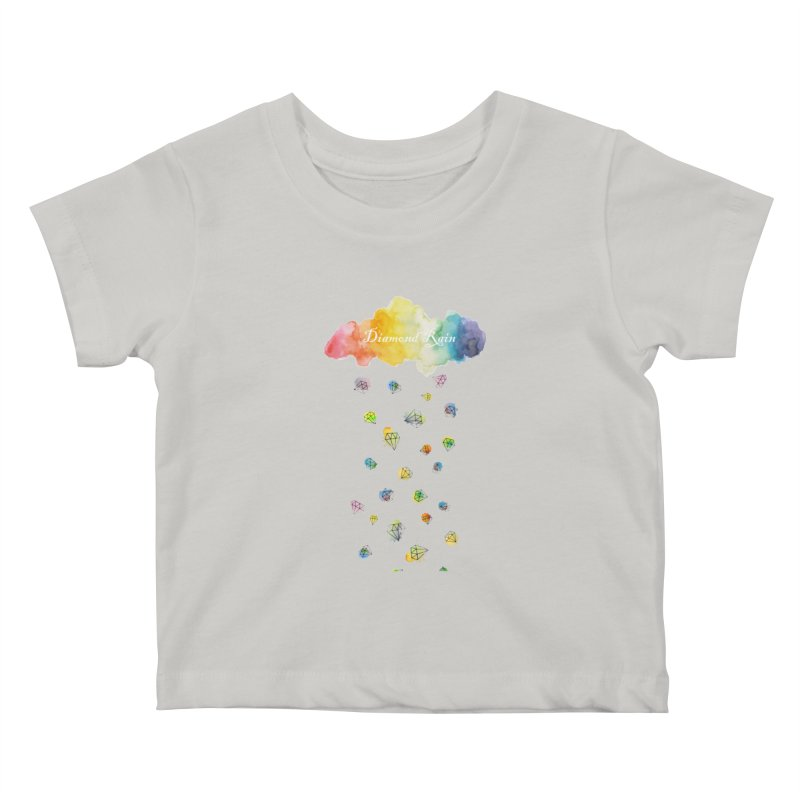 diamond rain Kids Baby T-Shirt by nyc917's Artist Shop