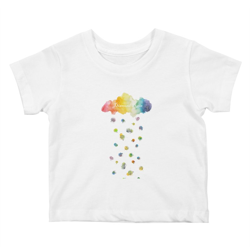 diamond rain Kids Baby T-Shirt by nyc917's Artist Shop