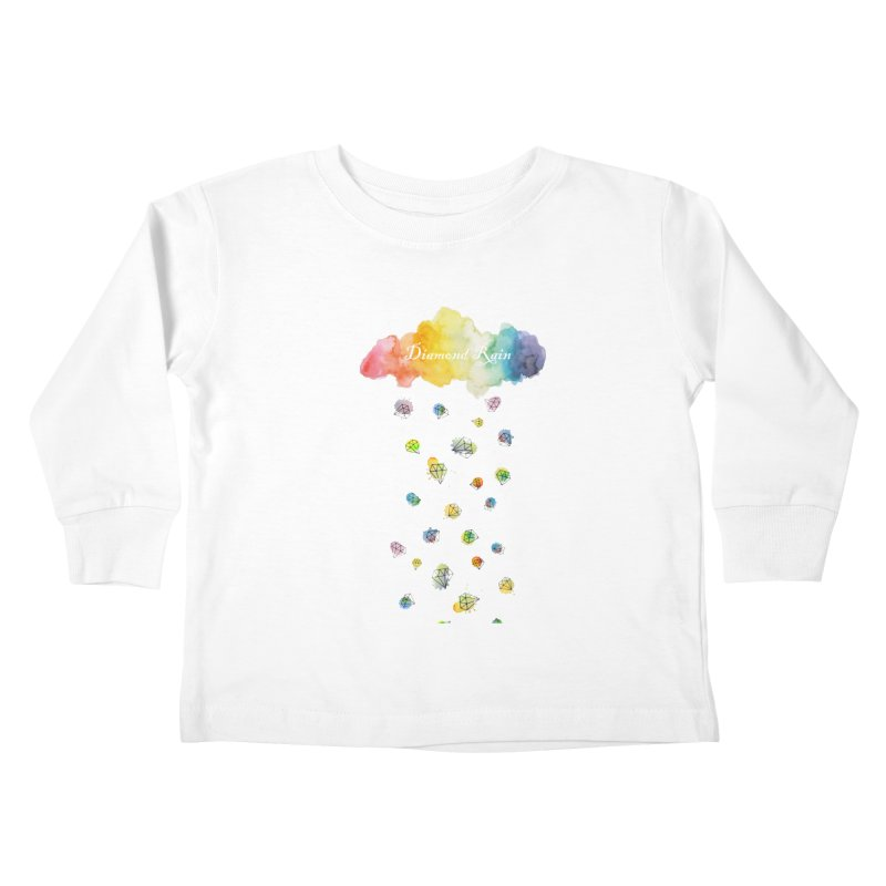diamond rain Kids Toddler Longsleeve T-Shirt by nyc917's Artist Shop