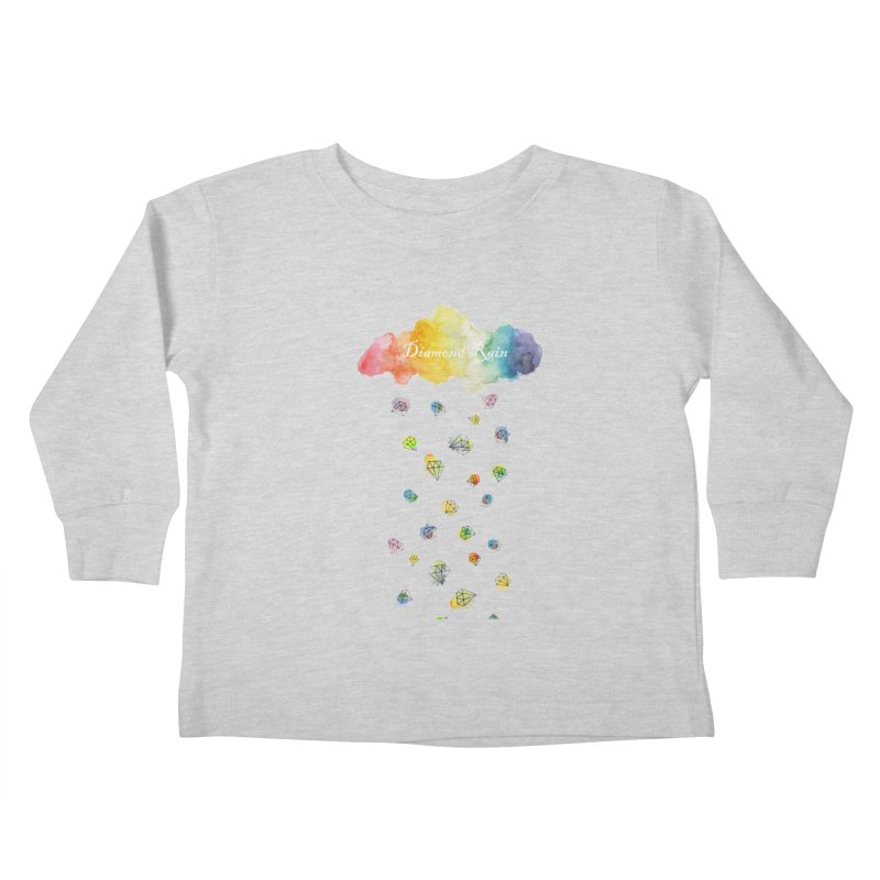 diamond rain Kids Toddler Longsleeve T-Shirt by nyc917's Artist Shop