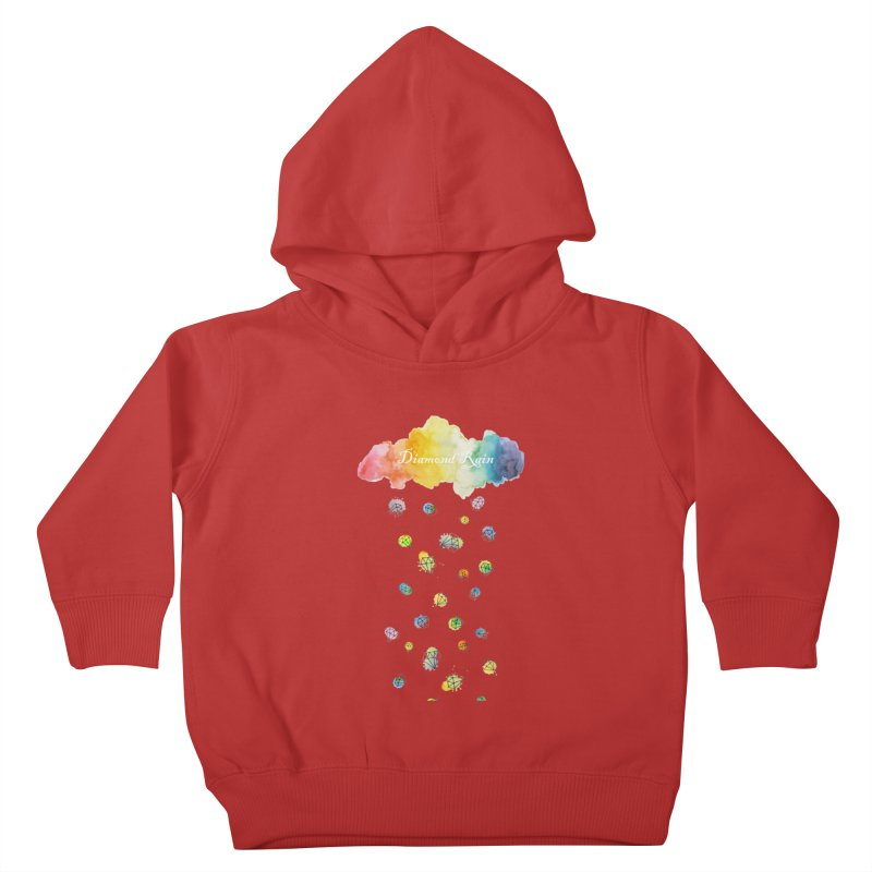 diamond rain Kids Toddler Pullover Hoody by nyc917's Artist Shop