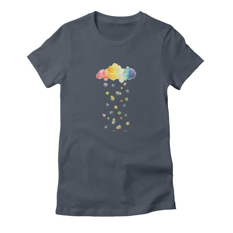 diamond rain Women's T-Shirt by nyc917's Artist Shop