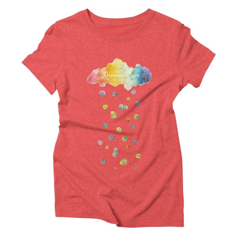 diamond rain Women's Triblend T-Shirt by nyc917's Artist Shop
