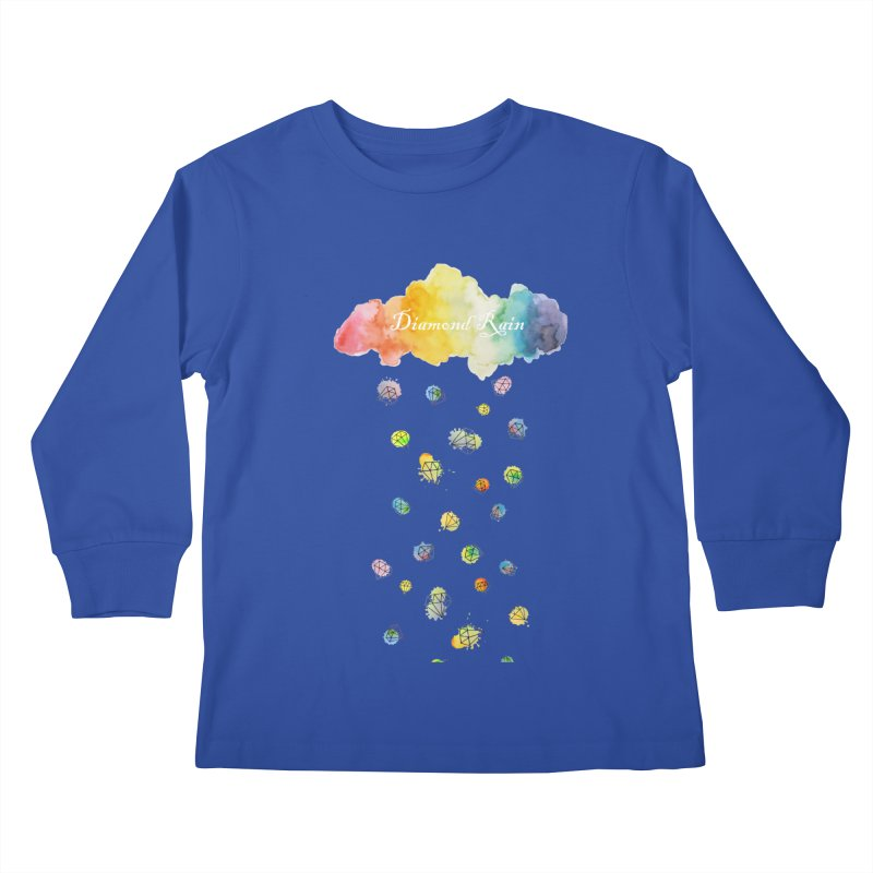 diamond rain Kids Longsleeve T-Shirt by nyc917's Artist Shop