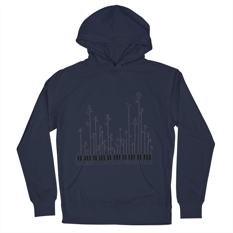 let the music grow Men's Pullover Hoody by nyc917's Artist Shop