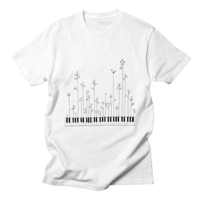 let the music grow Men's T-Shirt by nyc917's Artist Shop