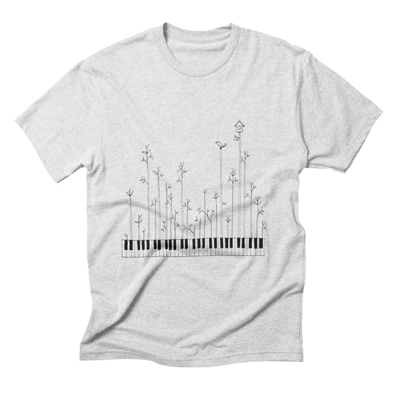 let the music grow Men's Triblend T-Shirt by nyc917's Artist Shop