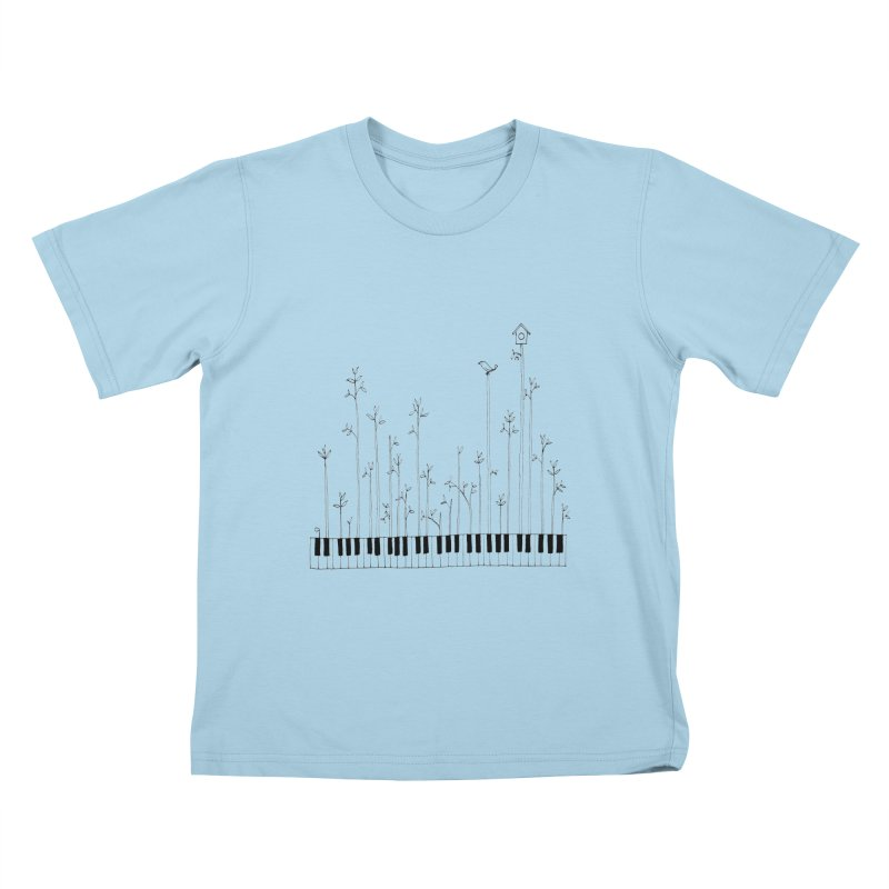 let the music grow Kids T-shirt by nyc917's Artist Shop
