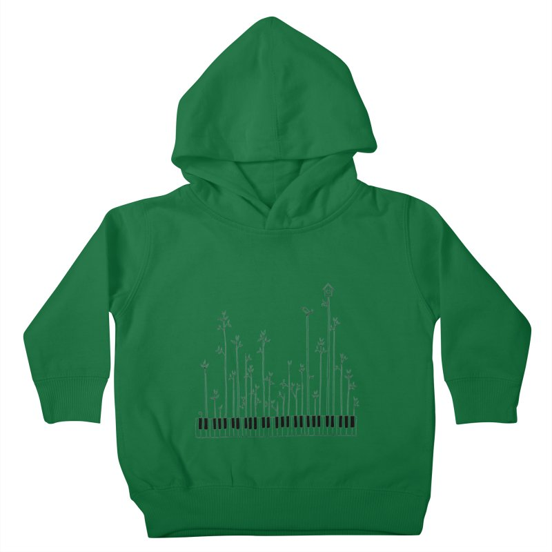 let the music grow Kids Toddler Pullover Hoody by nyc917's Artist Shop