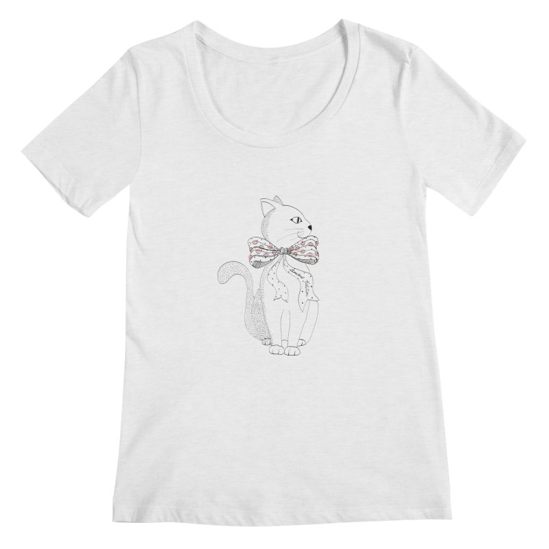 limited edition Women's Scoopneck by nyc917's Artist Shop