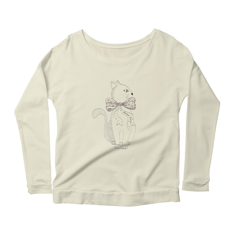 limited edition Women's Longsleeve Scoopneck  by nyc917's Artist Shop