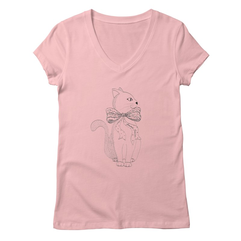 limited edition Women's V-Neck by nyc917's Artist Shop
